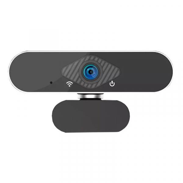 Camera Web FHD Xiaomi Xiaovv USB IP Camera cu microfon si tripod, 2MP,Unghi larg 150°,Auto focus, Recunoastere faciala, Alimentare USB 3