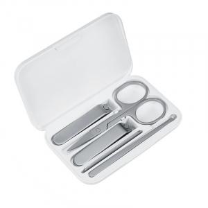 Set de manichiura si pedichiura Xiaomi cu 5 piese din otel inoxidabil si cutie magnetica de depozitare si transport1