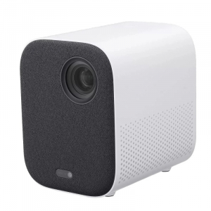 """Proiector Xiaomi Mi Smart Compact Projector, 4K, 120"""", HDR10, 2GB RAM, 8GB ROM, Android TV 9.0, Wi-Fi dual-band, Bluetooth, Dolby, Alb0"""