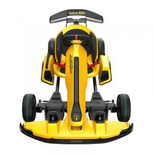 Xiaomi Ninebot GoKart Pro Lamborghini Edition, 40km/h, 96Nm, Autonomie 25km, Boxe incorporate, Bluetooth, Baterie 432Wh Quad-Airduct, Galben2