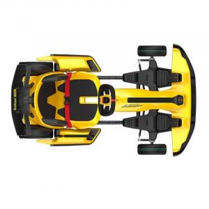 Xiaomi Ninebot GoKart Pro Lamborghini Edition, 40km/h, 96Nm, Autonomie 25km, Boxe incorporate, Bluetooth, Baterie 432Wh Quad-Airduct, Galben4