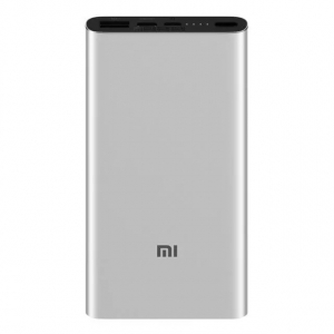 Acumulator extern Xiaomi Mi Power Bank 3 Silver0