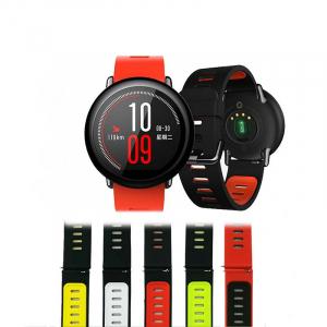 Bratara din silicon pentru smartwatch Xiaomi AmazFit 1, AmazFit 2 [0]
