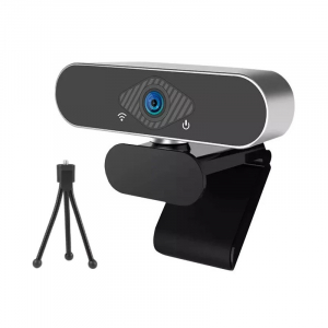 Camera Web FHD Xiaomi Xiaovv USB IP Camera cu microfon si tripod, 2MP,Unghi larg 150°,Auto focus, Recunoastere faciala, Alimentare USB0