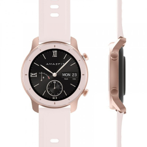 Ceas inteligent Xiaomi Huami Amazfit GTR, 1.2 inch, 42 mm, Amoled, GPS, 5ATM Waterproof, Bluetooth 5.0, 195 mAh, Global8