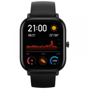 Ceas inteligent Xiaomi Huami Amazfit GTS, GPS, Bluetooth, IP69, 1.65 inch AMOLED 2.5D, Giroscop, 220mAh [1]