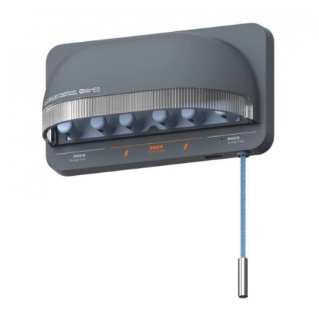 Sterilizator smart UVC LED Xiaomi Oclean S1 Gri cu 5 suporturi pentru periute de dinti si lame de barbierit1