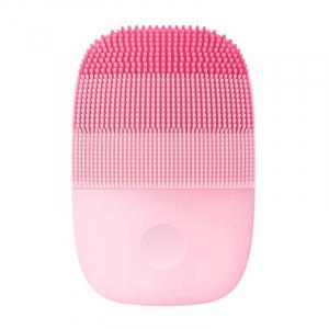 Perie electrica de masaj si curatare faciala Xiaomi inFace Sonic MS2000-1 Roz, 3 zone de curatare, 3 trepte de viteza, IPX70