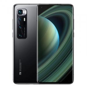 """Telefon mobil Xiaomi Mi 10 Ultra, 5G, AMOLED 6.67"""" curbat, 8GB RAM, 256GB ROM, MIUI v12, Snapdragon 865, 4500mAh, ROM global, Negru0"""