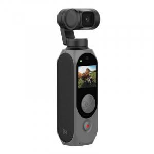 Camera video de buzunar Xiaomi FIMI PALM 2 Gimbal Camera Gri, 4K, Stabilizator mecanic pe 3 axe, Smart track, Anulare zgomot, Wi-Fi, 2600mAh1