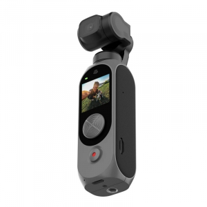 Camera video de buzunar Xiaomi FIMI PALM 2 Gimbal Camera Gri, 4K, Stabilizator mecanic pe 3 axe, Smart track, Anulare zgomot, Wi-Fi, 2600mAh3