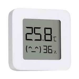 "Termohigrometru wireless Xiaomi Mi Temperature and Humidity Monitor 2, LCD 1.5"", Bluetooth v4.2, CR2032, Alb1"