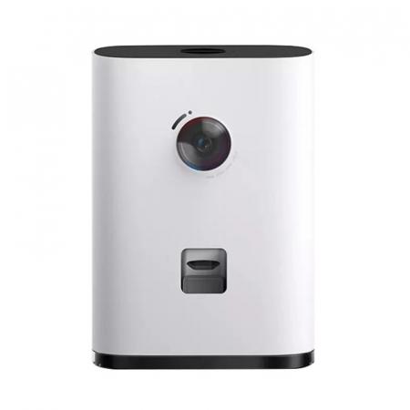 Dispenser hrana inteligent cu camera video FHD pentru caini si pisici Xiaomi Pawbby Smart Pet Snack Machine Alb, Interfon vocal cu 2 sensuri [0]