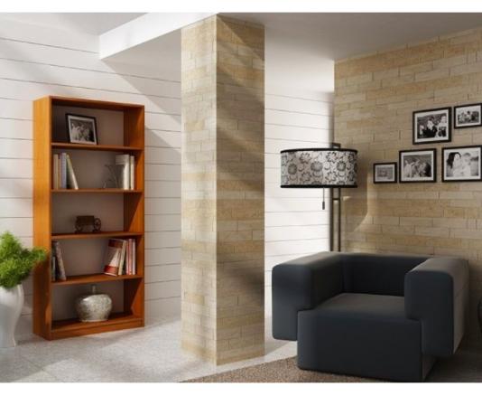 Etajera Birou Cires cu 4 Polite de Depozitare Dimensiuni : 200x70x35 1