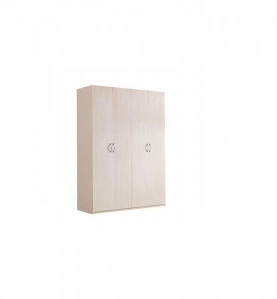 Dulap Sonoma cu 4 Usi si Polite de Depozitare 200X160x40 cm, Pal 18mm si Cant ABS 0