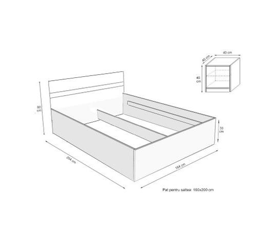 Set Dormitor CORA 2