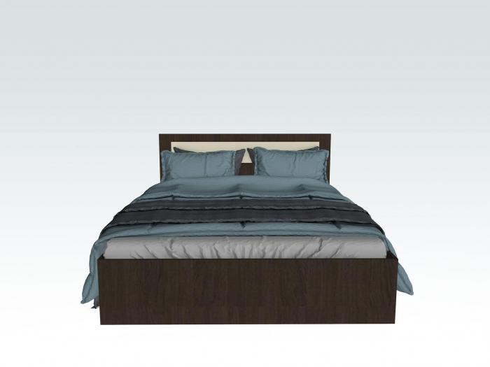 Set Dormitor MARIO Wenge - CREM 2