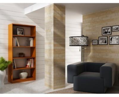 Etajera Birou Cires cu 4 Polite de Depozitare Dimensiuni : 200x70x351