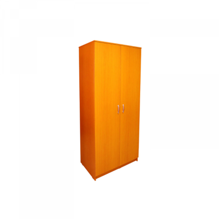 Dulap Cires cu 2 Usi, 2 Rafturi Depozitare si Bara de Haine 200x80x50 cm, din Pal de 18 mm [0]