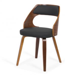 Scaun Bucatarie din lemn cu sezut tapitat 0150