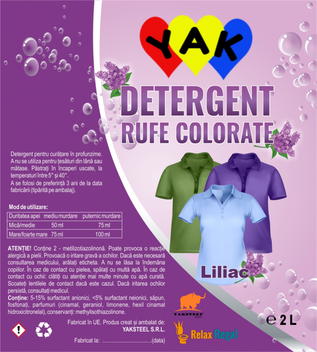 Detergent rufe Colorate 0