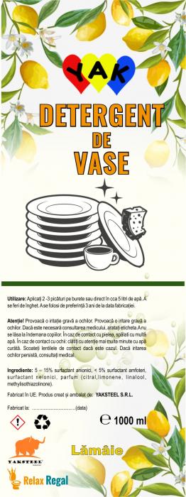 Detergent vase Lemon 0