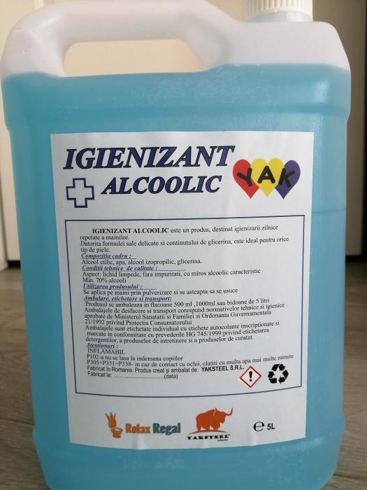 Igienizant Alcoolic pentru Suprafete  5lt 0