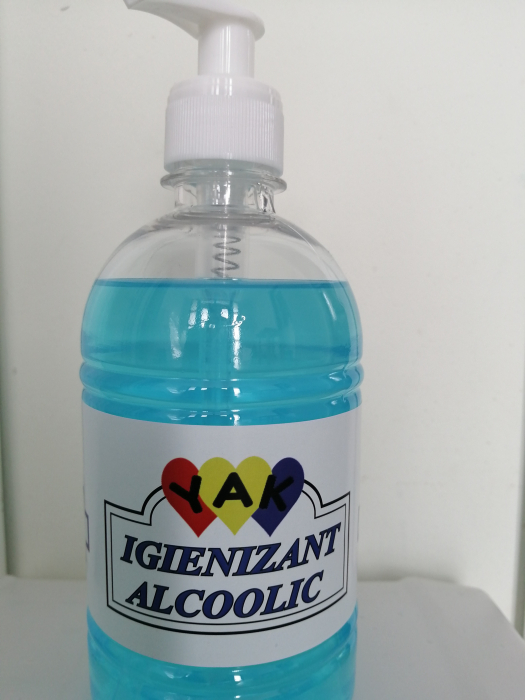Lotiune Igienizanta HidroAlcoolica cu glicerina 500ml 1