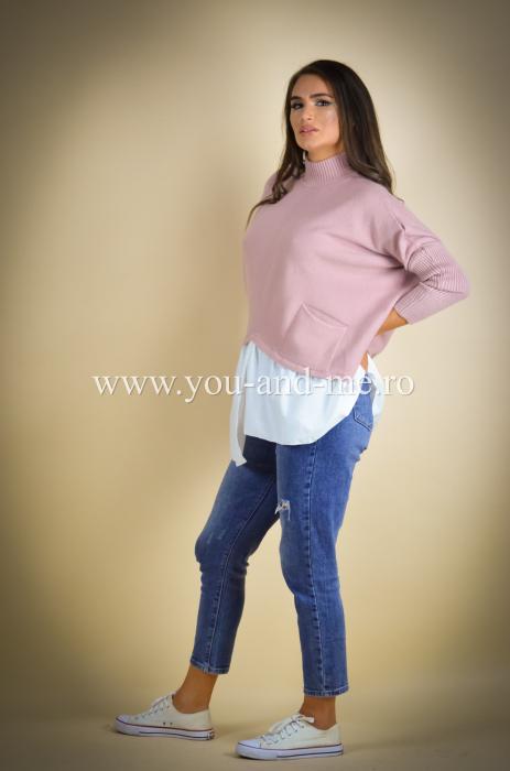 Bluza cu guler tunica si camasa [2]
