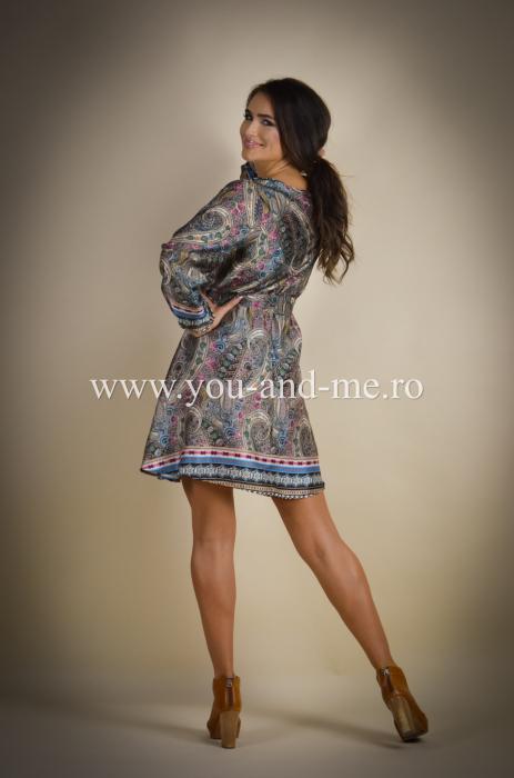 Rochie cu anchior cu print [2]