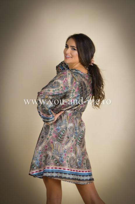 Rochie cu anchior cu print [3]