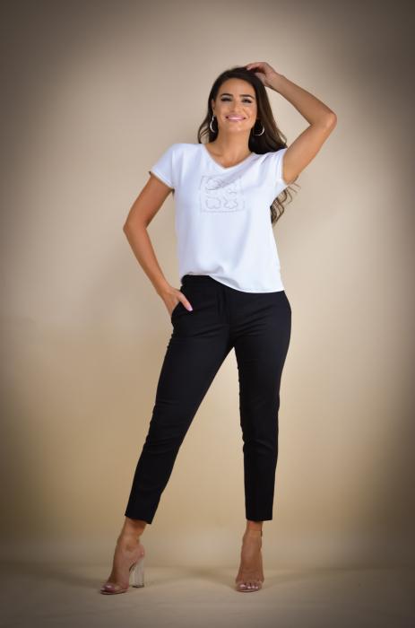 Pantaloni dama eleganti negri [0]