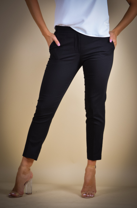 Pantaloni dama eleganti negri [1]