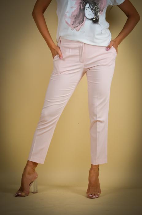 Pantaloni dama  eleganti roz [1]