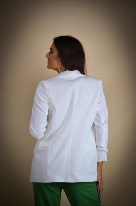 Sacou de dama alb [3]