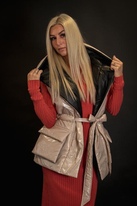 Vesta de dama cu cordon [5]