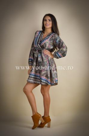 Rochie cu anchior cu print [1]