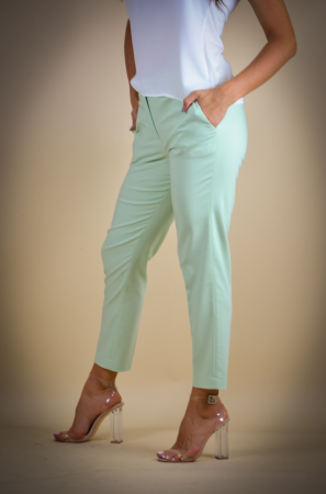 Pantaloni dama eleganti vernil [2]