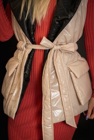 Vesta de dama cu cordon [6]