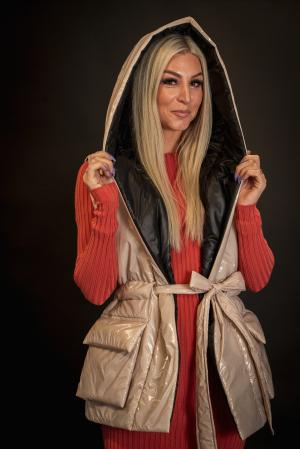 Vesta de dama cu cordon [3]