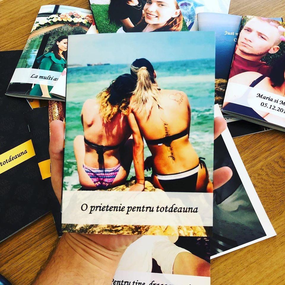 carte personalizata pentru prietena