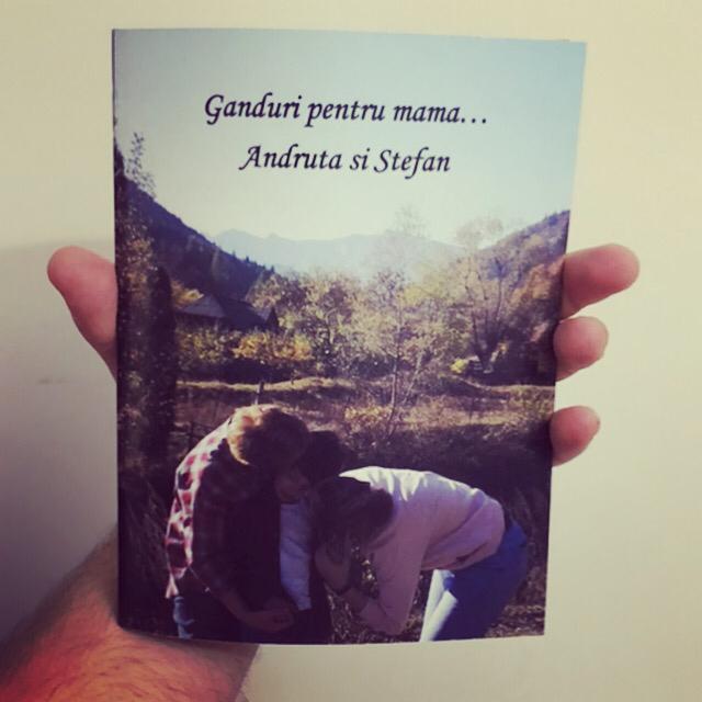 carte personalizata pentru mama