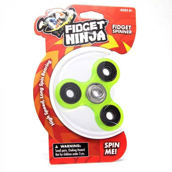 Fidget Ninja Spinner - Verde 0