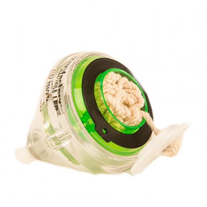 Titirez Elec-Trick cu LED - Verde Transparent [1]