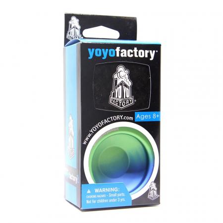 Yoyo Paolista Fade - Verde si Albastru [2]