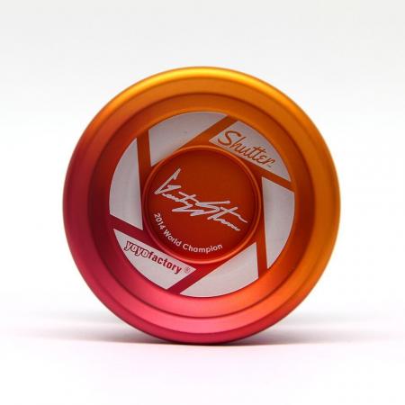Yoyo Shutter Splash - Portocaliu si Rosu2