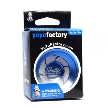 Yoyo Shutter Wide Angle Special - Albastru si Argintiu3