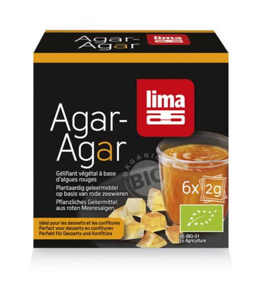 Agar Agar Pudra Eco 6X2G Lima 0