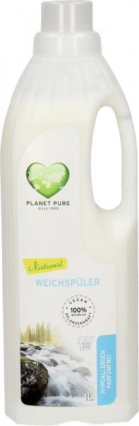Balsam bio pentru rufe hipoalergen -fara parfum- 1L Planet Pure [0]