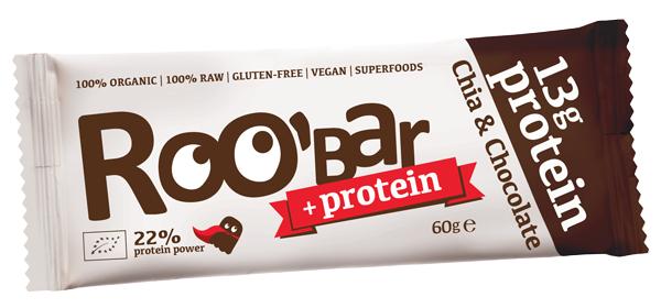 Baton proteic cu vanilie si ciocolata raw eco 60g [0]